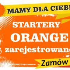 Sprzedam zarejestrowane karty sim orange Toszek  zadzwoń 887 332 665
